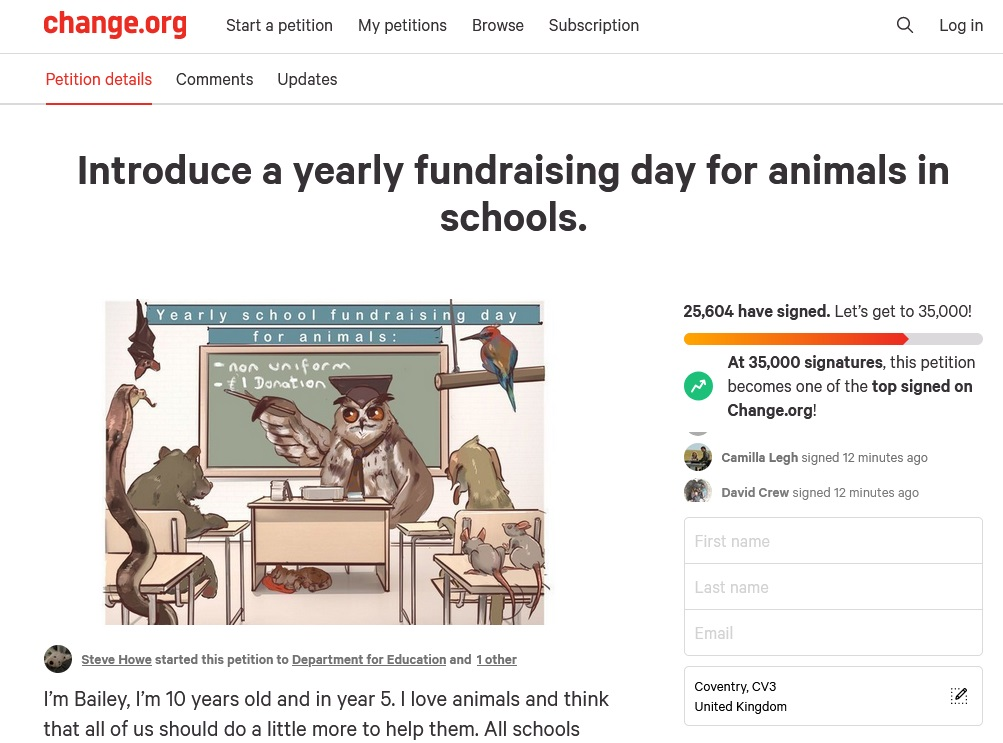 bailey's-petition